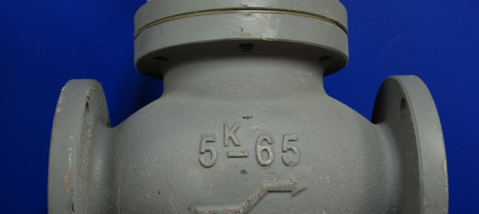 Cast Iron Valves – Globe and Angle 5K